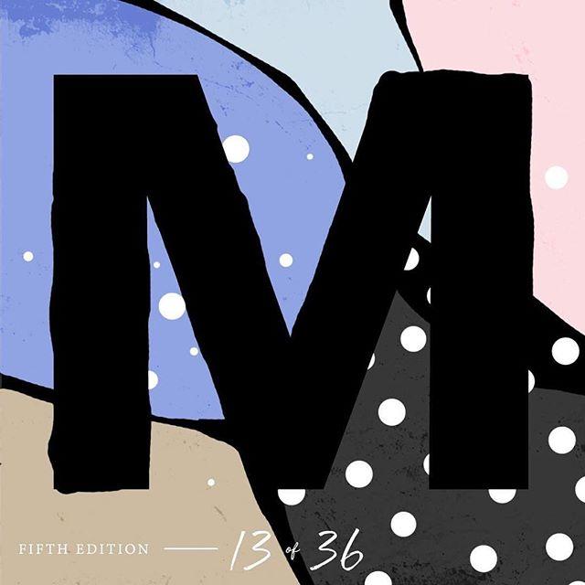 #36daysoftype05 #36days_M #M #36daysoftype_M #letter #alphabet #design #collage