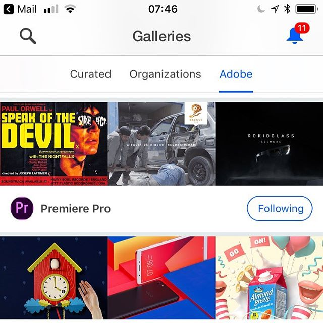 @paul.orwell latest video we worked on has been featured on adobe premiere pro behance page. Check in are bio if you haven't seen it yet. Thanks 🙏