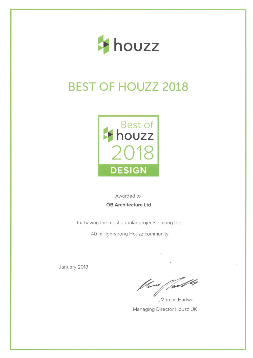 Best of Houzz 2018_Design