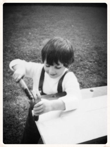 Phil aged 5 (1984)