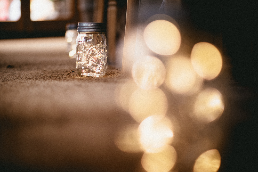 Firefly Jars Aisle Decor