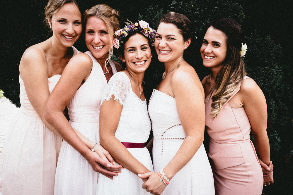 Bride and Bridesmaids | Berkshire Wedding Planner