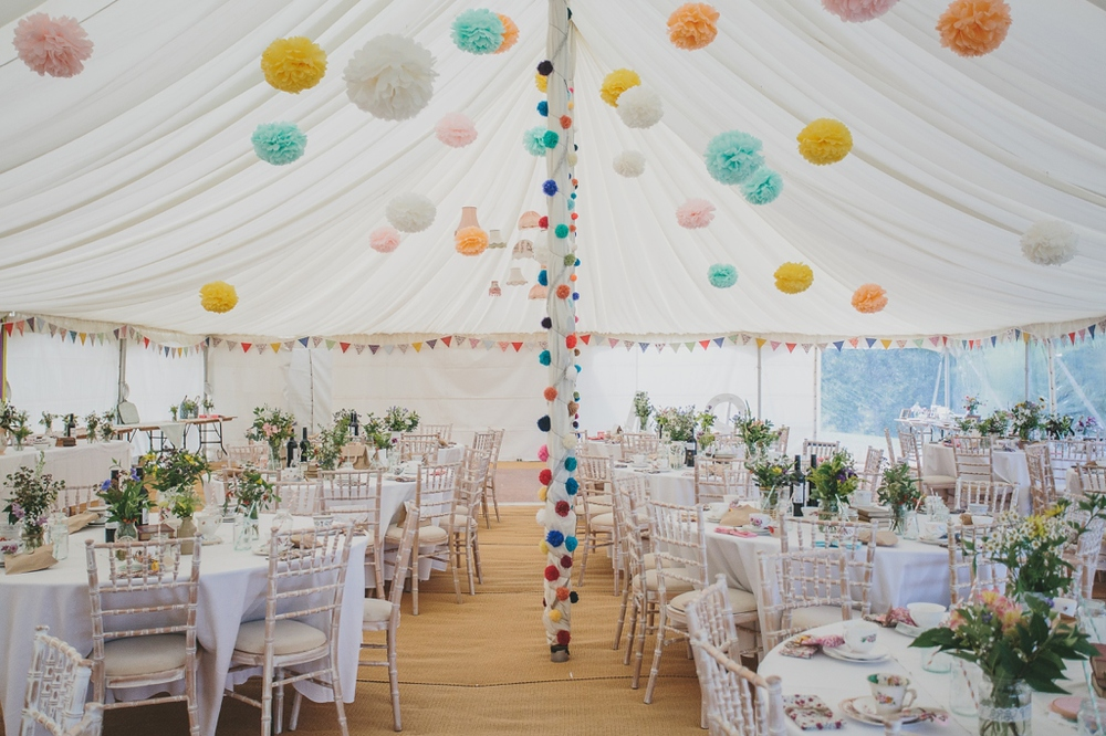 Marquee Decor | Cotswolds Wedding Planner