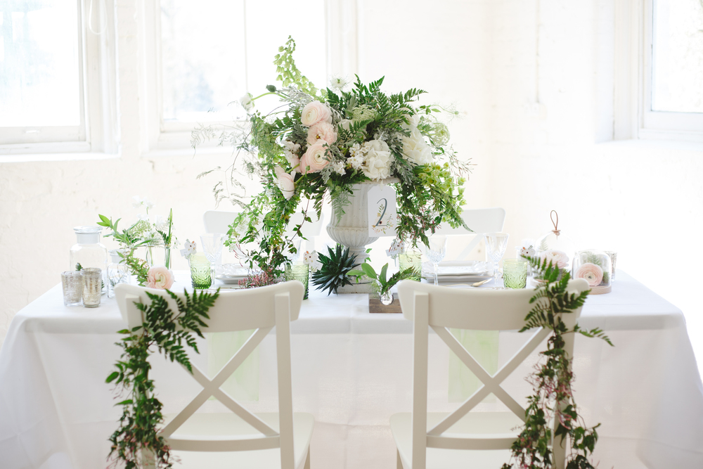 Botanical Fine Art Wedding Inspiration by Vanilla Rose Weddings