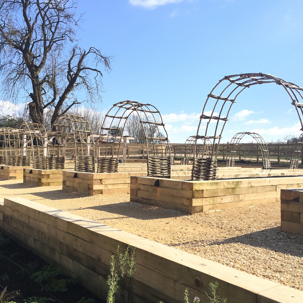 The Kitchen Garden at Soho Farmhouse, ready for planting!