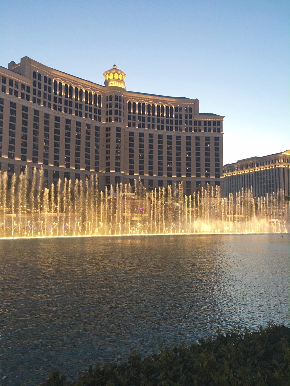 The Fountains at The Bellagio