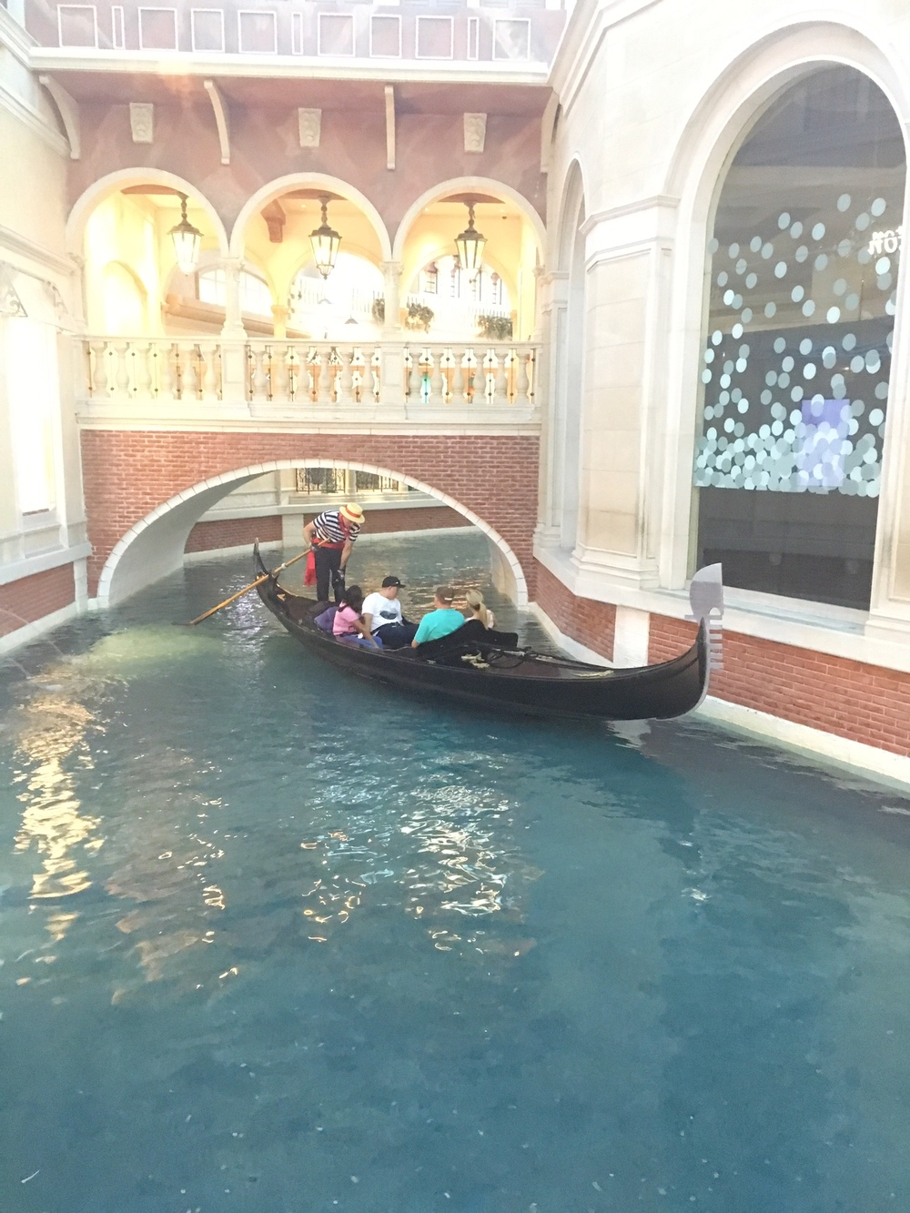 Gondolas at The Venetian