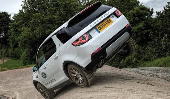 Land Rover Experience at Luton Hoo Estate