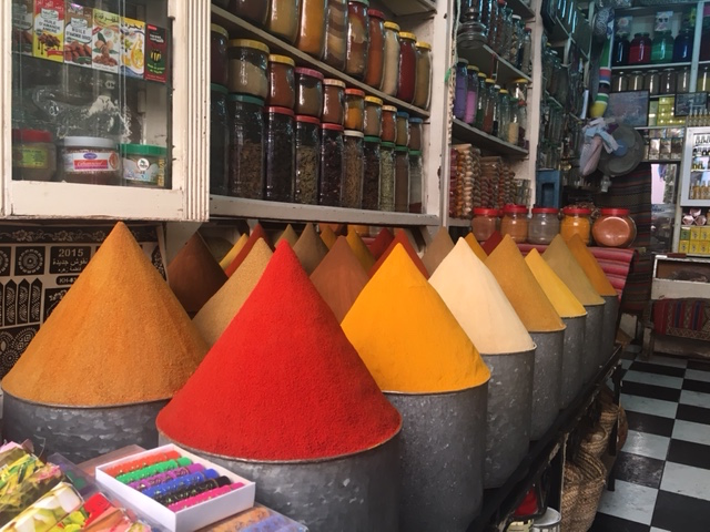 Moroccan Market Spices