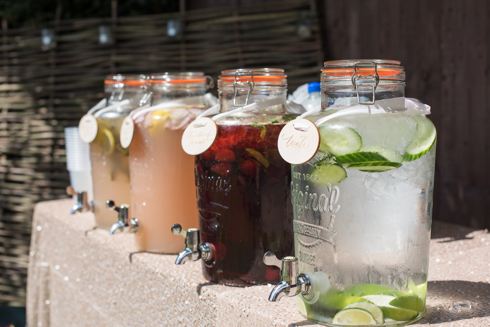 Kilner drinks dispenser hire oxfordshire
