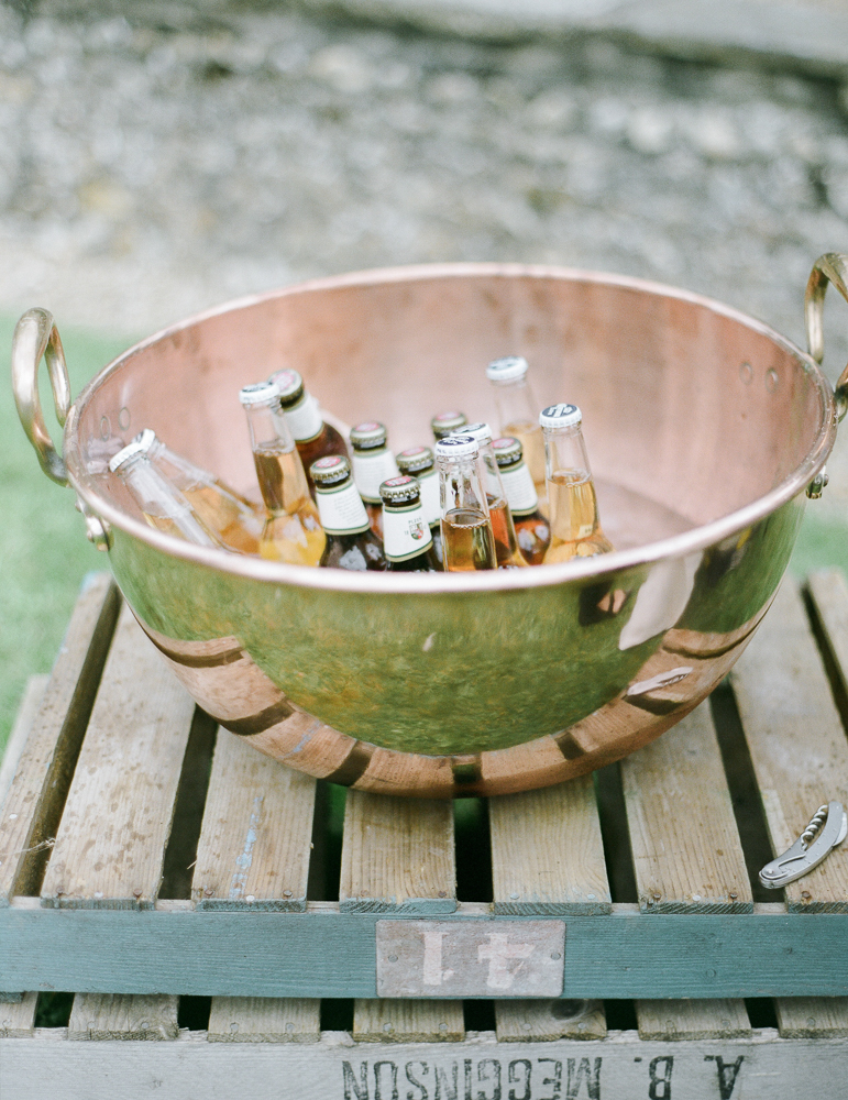 Copper Ice Bucket Hire Oxfordshire