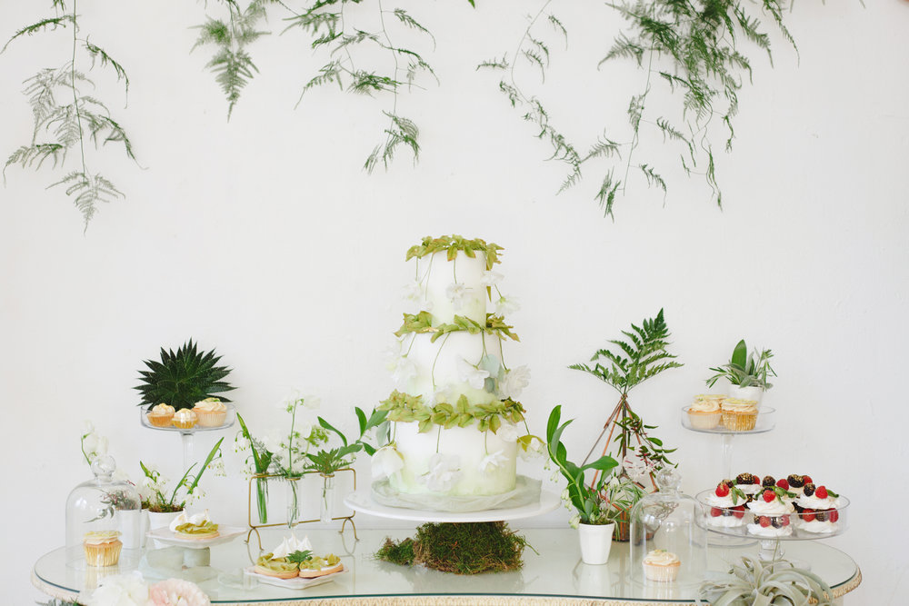 Botanical and Greenery Fine Art Wedding Inspiration Vanilla Rose Weddings