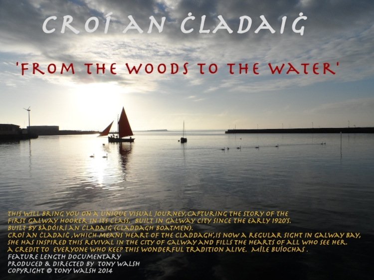 Back by popular demand! Paddy's Fringe presents an extra screening of Croí an Ċladaiġ – From the Woods to the Water TUESDAY 28.03.17 at 19.00 Tickets at door only on a first come first served basis Cover Charge: 60 nok – cash or Vipps only Croí an Ċladaiġ – From the Woods to the Water (86 min.)  Shot and produced over a period of three years, Croí an Ċladaiġ takes us on a unique visual journey, capturing the story of how the iconic Galway Bay Hooker sailing boat was built in Galway city using traditional skills and tools. This is the first hooker in its class to be built in Galway since the early 1920s.   https://www.youtube.com/watch?v=r0_NZnkhcNo