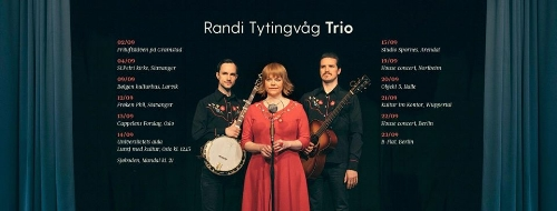 Randi Tytingvåg is a Norwegian singer and songwriter with roots in the jazz genre. Her voice carries a dualistic mix; strong and fragile at the same time.  cc: 100 kr