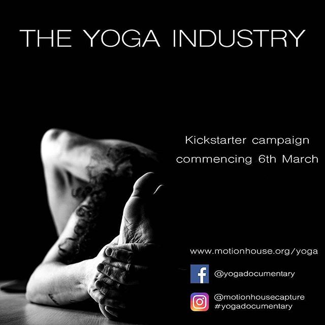 Regrann from @motionhousecapture -  #Repost me :) - #regrann  #yogi #yogaeverydamnday #instayoga #yoga #docu #documentary #kickstarter #kickstartercampaign