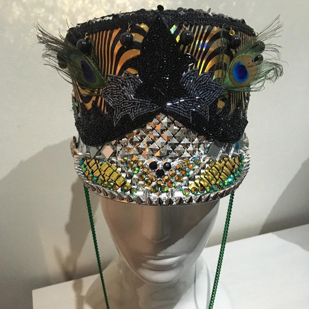 LoveKhaos.com Fashion for the extraordinary #burningman #festivalfashion #festivalstyle #bohochic #burningmanhat #burnerstyle #raveoutfit #halloweencostume