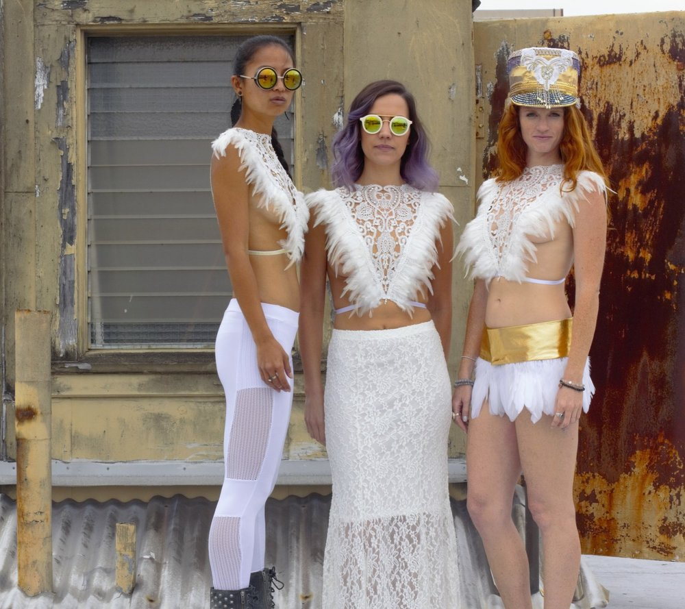 LoveKhaos.com Fashion for the extraordinary #burningman #festivalfashion #festivalstyle #bohochic #bohemian #bohobride