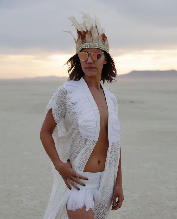 LoveKhaos.com Fashion for the extraordinary #burningman #festivalfashion #festivalstyle #bohochic #bohemian #bohobride