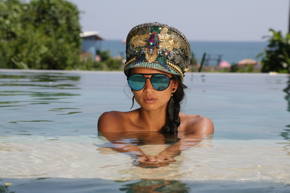LK Balinese Dancer Hat