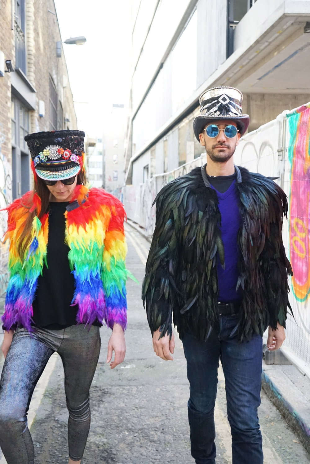 LK Feather Coats
