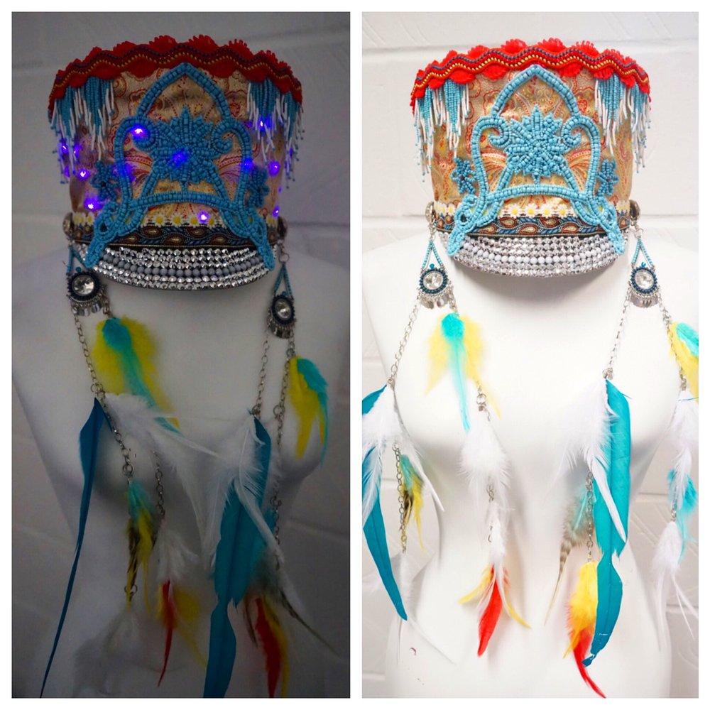 Love Khaos Hats with LED Lights