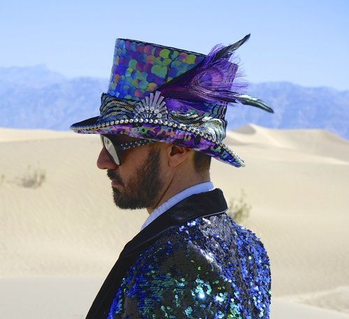 97a5805465879 Burning Man Top Hats with LED Lights ...