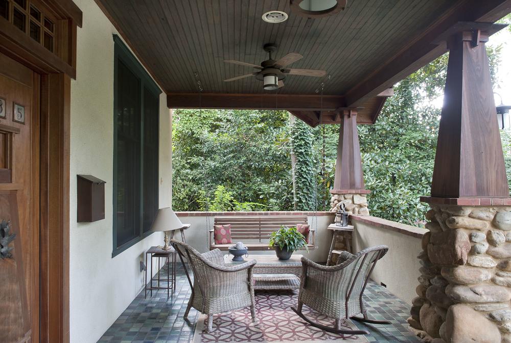 Front porch.
