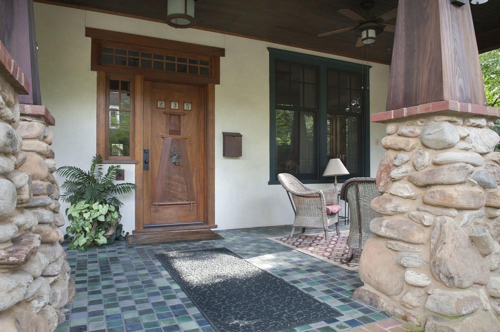 Front entrance.