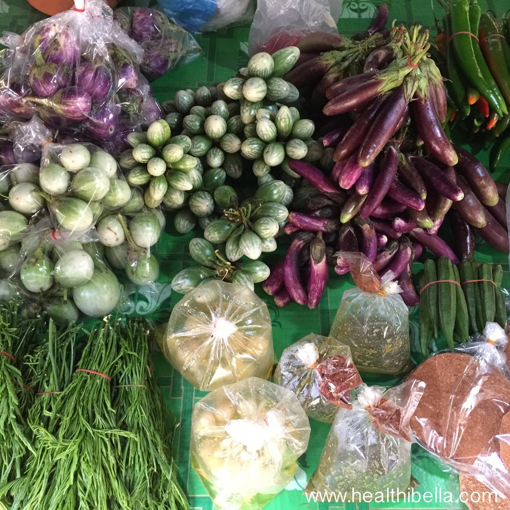 Rural market near Chiang Mai