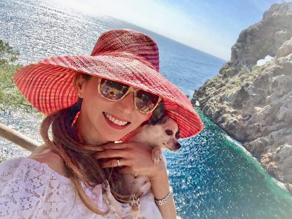 Sa Foradada Selfie with My Chi