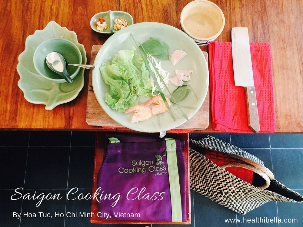 Charming in Ho Chi Minh: Saigon Cooking Class & Merci Nails