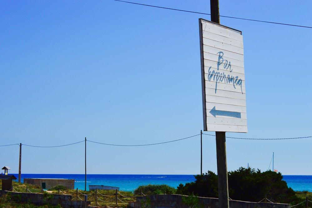 Bar Esperanza,Playa de Es Trenc
