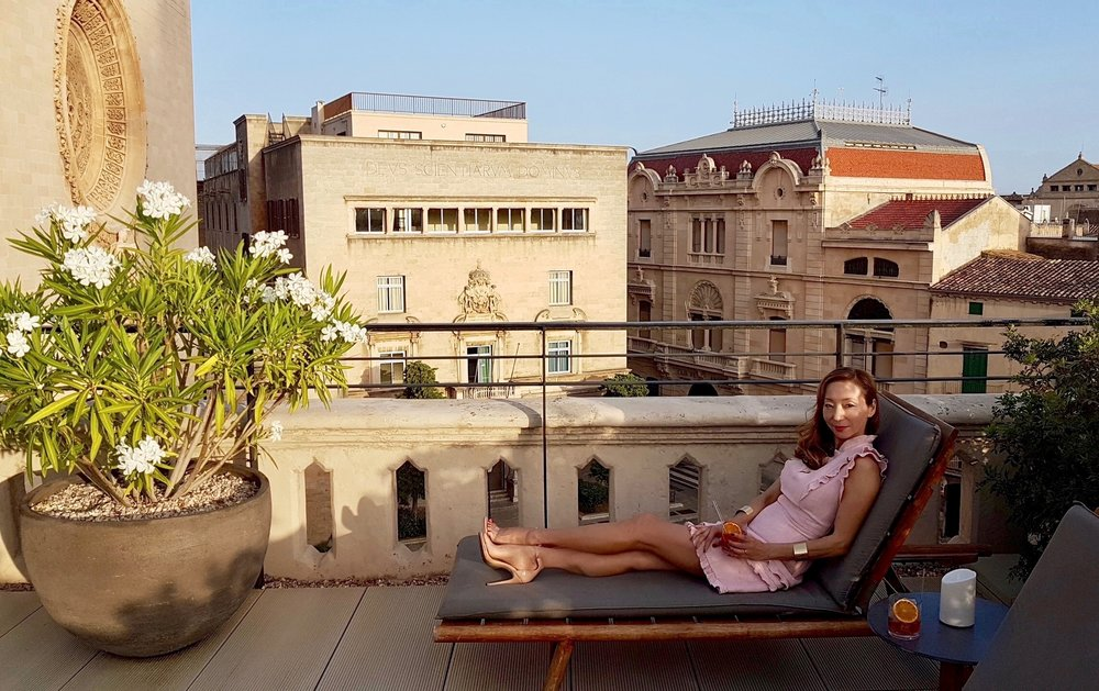Hotel Sant Francesc Roof Terrace