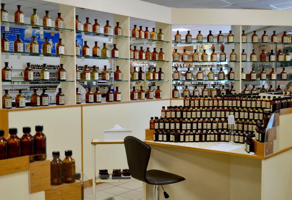 The Galimard Parfumerie lab.