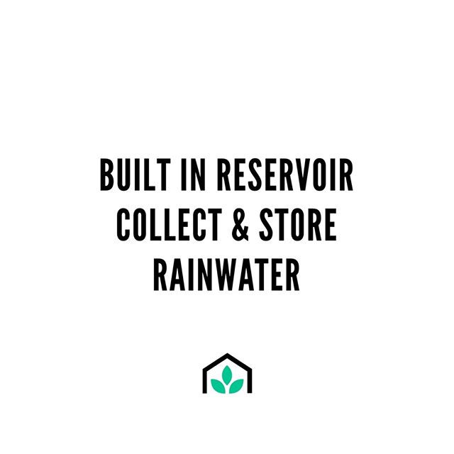 Want to preserve our precious water as much as we do?Our self-watering gardens have built in water reservoirs that collect and store rainwater, which means your garden gets the best water to grow the best organic food  #growspace #wherepeoplegrow