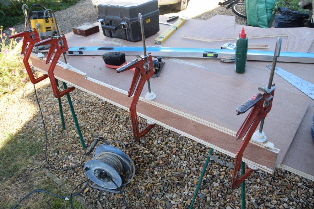 6 - Keyboard base glued up.jpg