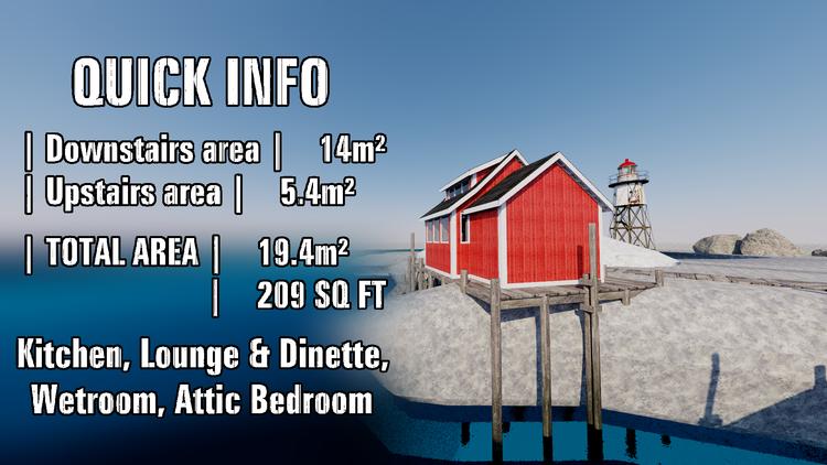 A Norwegian Tiny House - (19.4m²/209 sq ft) — Studio Jamming