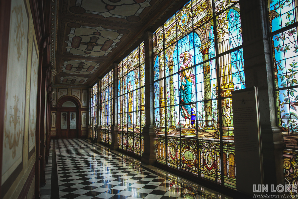 Beautiful interiors of Chapultepec Castle