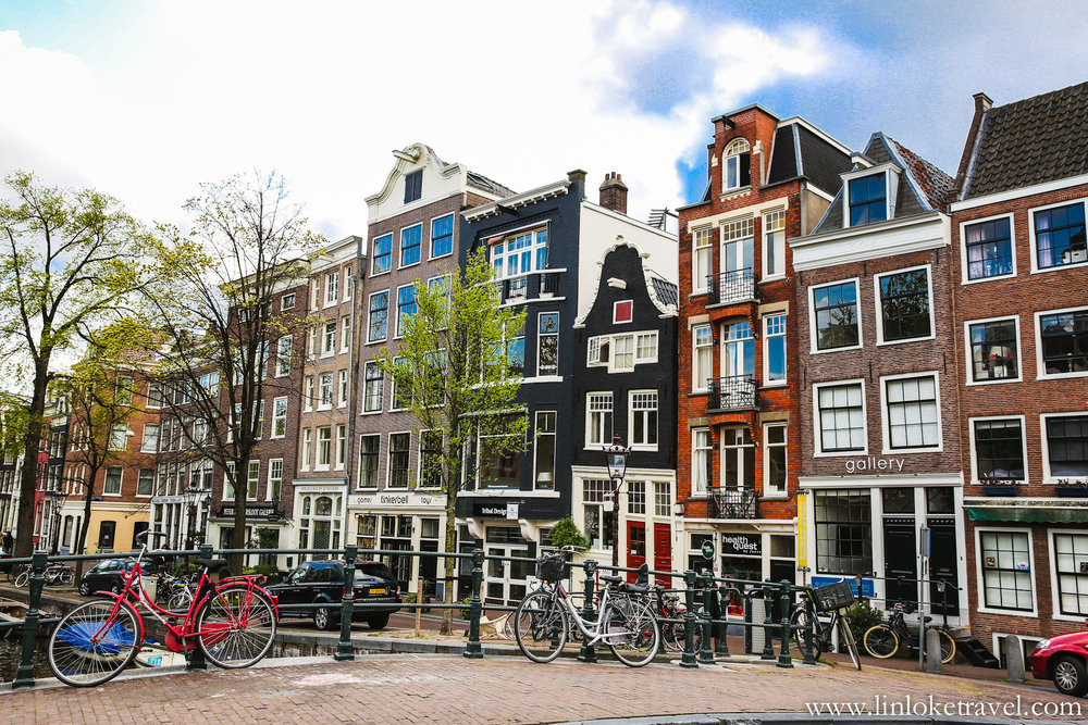 Crooked houses of Amsterdam
