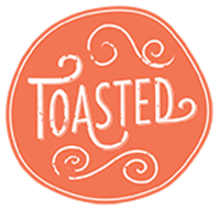 toasted logo brooklyn new york