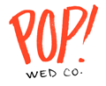 Pop! Wedding Co. Logo