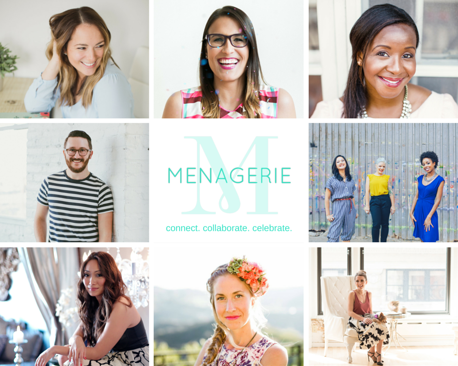 menagerie collaborators collage