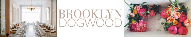 Brooklyn dogwood logo
