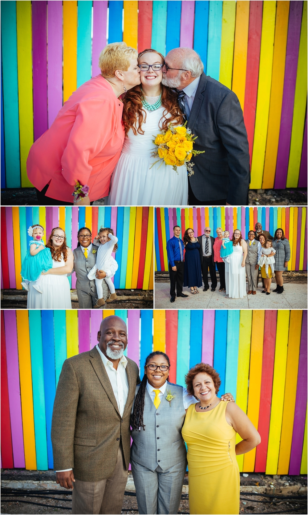 A Lovely Photo Wedding Photography brides with their families