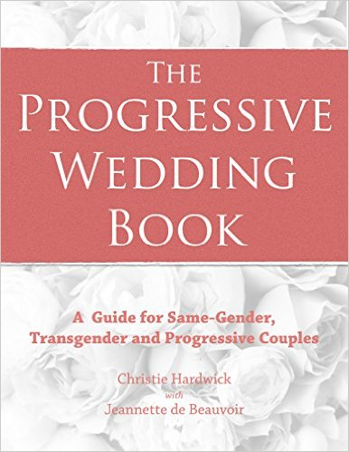 cover of  the progressive wedding book