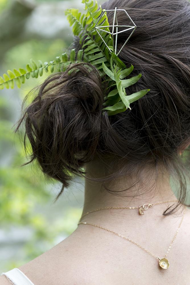 Elaine B Jewelry hairpiece