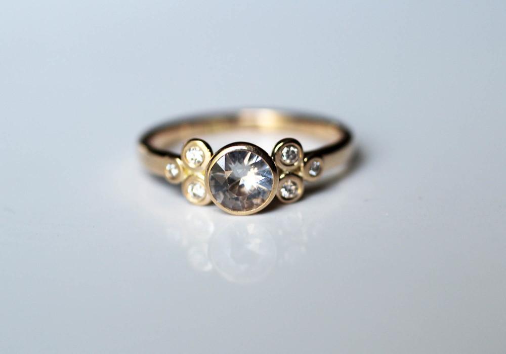 Elaine B Jewelry diamond ring