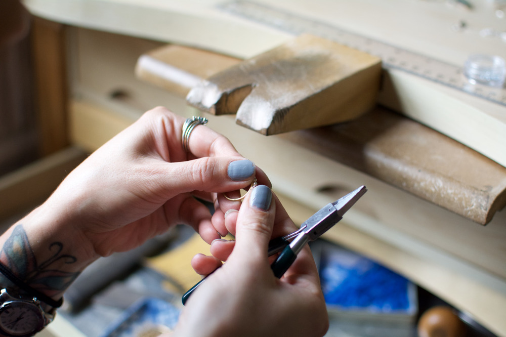 Elaine B Jewelry crafting ring