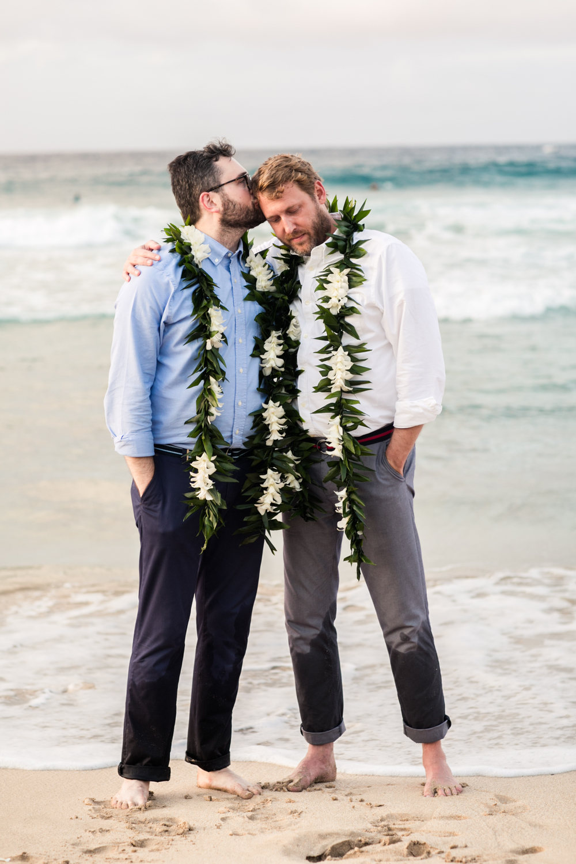 Lisa25 Wedding Photography kiss on forehead
