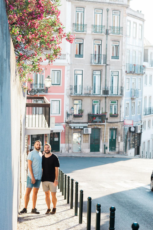 Priscilla De Castro Photography posing on sidewalk